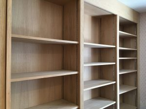 Carpentry and shelving