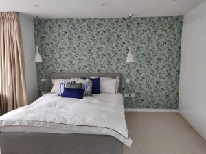 Wallpapering and decorating